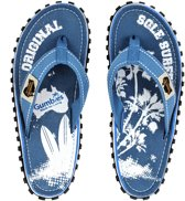 Gumbies - ISLANDER CANVAS FLIP-FLOPS - PALM - Maat 42