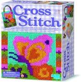 4M Knutselpakket Crea Easy Knit Kruisjessteek