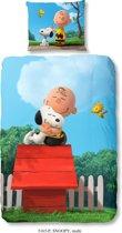 Snoopy Dekbedovertrek Hug 3D