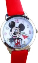 Mickey Mouse horloge- Rood- 30 mm