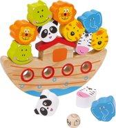 Houten balansspel - De dieren in de ark - Speelgoed vanaf 3 jaar