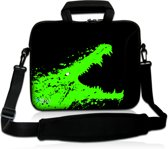 Laptoptas 17,3 inch krokodil - Sleevy