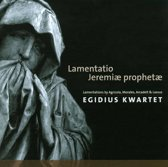 Lamentations Of The Prophet Jeremia