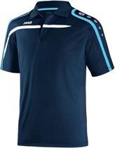Jako Polo Performance - Sportpolo -  Heren - Maat M - Navy;Wit;Blauw