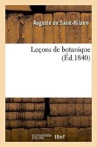 Le�ons de Botanique