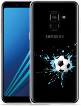 Samsung Galaxy A8 Plus 2018 Hoesje Soccer Ball