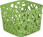 Curver Neo Cube Opbergmand - 38x29xh13 - Kunststof - Groen