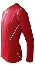 KWD Sportshirt Mundo - Voetbalshirt - Kinderen - Maat 152 - Rood/Wit