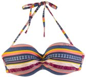 Protest Mix & Match Bandeau Bikini Top Bcup Dames LESLIE Beet RedXS/34