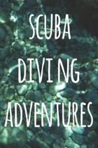 Scuba Diving Adventures: The perfect way to record your dives! Ideal gift for anyone you know who loves to suba dive!