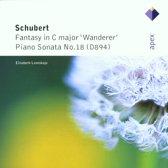 "Schubert: ""Wanderer"" Fantasy, Sonata no 18 / Elisabeth Leonskaja"