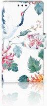Sony Xperia X Performance Bookcase Bird Flowers