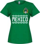 Mexico Dames Team T-Shirt - Groen - S