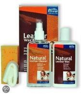 Oranje Furniture Care Wax & Oil - Onderhoud leer - 2x150 ml