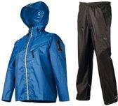 AGU Splash Regenpak - Kinderen - Maat 128 - Blauw