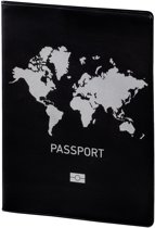 Hama Paspoort & credit card protection wallet zwart