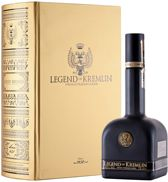 Legend of Kremlin Vodka Gold Book 70cl