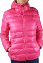 Adidas W Light Down Jacket AB2461, Vrouwen, Roze, Sportjas maat: 36