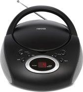 Nikkei NPRC11BK portable radio/ CD-speler