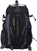 Compacte Wandelrugzak/Wandeltas Backpack voor Dames en Heren - Alternatief North Face - Lovnix TanXian Bag106 | Zwart