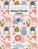 Animal Doodle Sketchbook