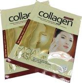 5x Gold Collageen Peel Off Masker - Anti Rimpel & Aging Hydraterend Gezichtsmasker