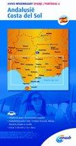 ANWB wegenkaart - Spanje/Portugal 6. Andalusië,Costa del Sol