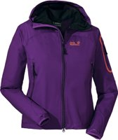 Jack Wolfskin Impulse Jacket Women - dames - softshell - maat L - paars