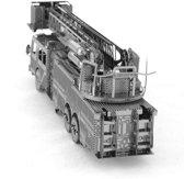 Metal Earth Modelbouw 3D Brandweerwagen - Metaal