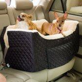 Snoozer Lookout - Autostoel - Autozitje voor honden - Medium 48 cm x 56 cm x 43 cm - Zwart - met lade