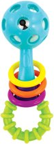 Sassy - peek-a-boo rammelaar - babyspeelgoed
