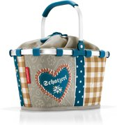 Reisenthel Carrybag Boodschappenmand -Maat XS - Polyester - 5L - Special Edition Bavaria 4 Taupe;Petrol