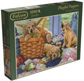 Falcon Playful Puppies - Puzzel - 1000 stukjes