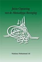 Juiste opvatting van de ahmadiyya beweging