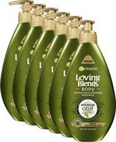 Garnier Loving Blends Body Mythische Olijf - 6 x 250ml - Bodymilk - Voordeelverpakking