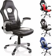 Sens Design - Critical Hit Gaming Chair - Zwart