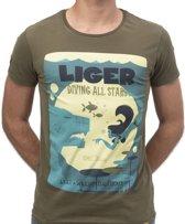 LIGER X William Dalebout - Limited Edition van 360 stuks -Duik -T-Shirt - Maat M