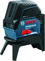 Bosch Professional GCL 2-15 Kruislijnlaser - Tot 15 meter bereik - Met opbergkoffer