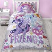 My Little Pony Crush - Dekbedovertrek - Eenpersoons - 135 x 200 cm - Multi