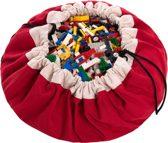 Play & Go Opbergzak / Speelkleed Rood