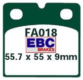 EBC Remblokken FA018 motorfiets