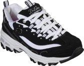 Skechers D'Lites- Biggest Fan Sneakers Meisjes - Black White - Maat 32