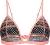Protest MM NATALIE Triangle Bikini Top Dames - Coral Blaze - Maat XL/42
