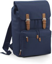 Bagbase Vintage Laptop Rugzak French Navy 18 Liter