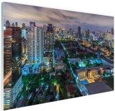 Washington DC Skyline Glas 120x80 cm - Foto print op Glas (Plexiglas wanddecoratie)