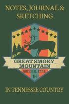 Notes Journaling & Sketching Great Smoky Mountain National Park TN