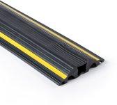 Rubbermagazijn Safety - Kabelgoot 5 kanalen 64x15mm Lengte 9 meter