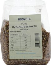 Body & Fit Superfoods Pure Lijnzaad gebroken - 250 gram