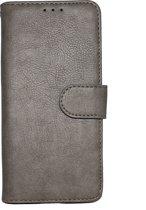 Samsung Galaxy S10 Hoesje - Hoge Kwaliteit Portemonnee Book Case - Grijs