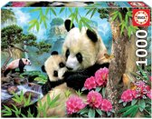 Legpuzzel - 1000 stukjes - Panda's - Educa puzzel